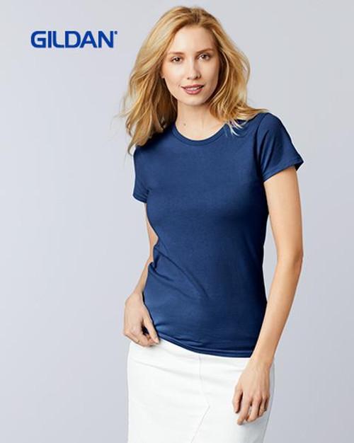 Gildan Ladies Premium Cotton Short Sleeve T-shirt (4100L) Front