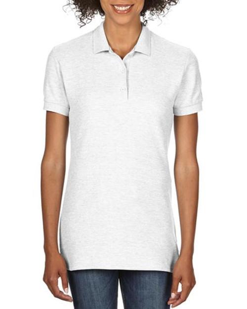 Gildan Ladies Premium Cotton Double Pique Sport Shirt (82800L) Front