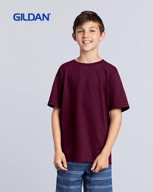 Gildan Youth Heavy Cotton Short Sleeve T-shirt (5000B)