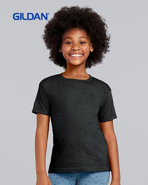 Gildan Youth Softstyle Short Sleeve T-shirt (64500B) Front