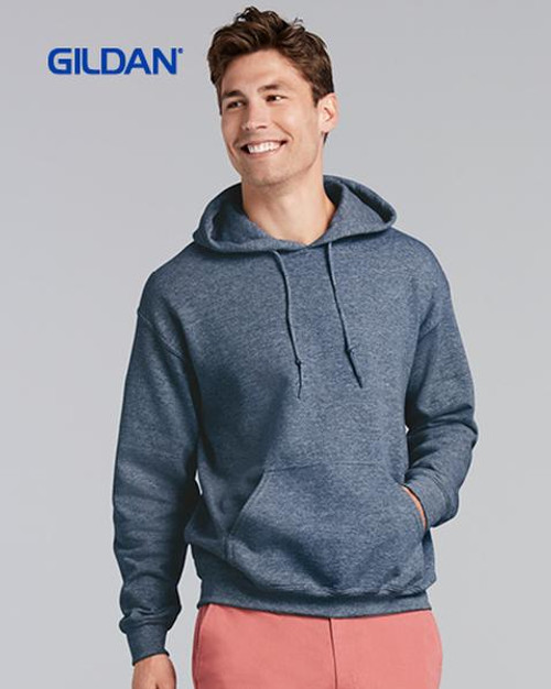 Gildan Hooded Sweatshirt (18500) - Front