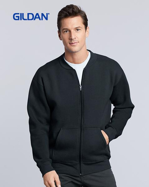 Gildan Hammer Fleece Full Zip Jacket (HF700) Front