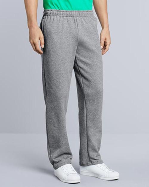 Gildan Open Bottom Sweatpant (18300) Front