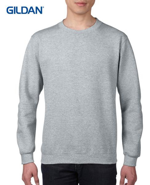 Gildan Eurofit Crewneck Sweatshirt (88000) Front