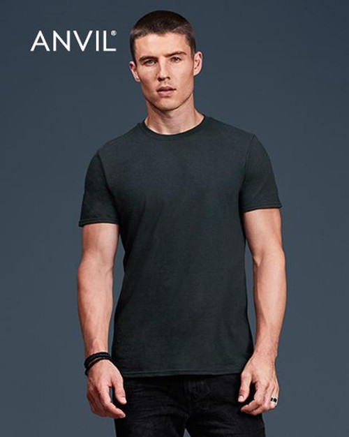 Anvil Short Sleeve T-shirt (980) Front