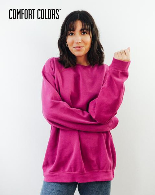 Comfort Colors Crewneck Sweatshirt (1566) Front