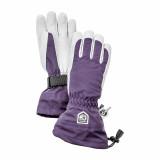 Women's Heli Glove - Plum/Offwhite
