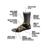 Le Bent Le Sock Trail Light 3/4 Crew Hiking Sock