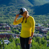 Corbeaux Breeze Women's Long Sleeve - On the Trail