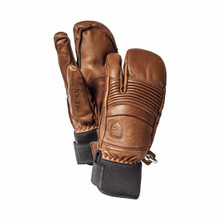 Hestra Fall Line 3 Finger Glove - Brown