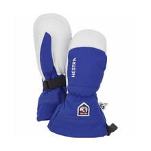 Army Leather Heli Ski Jr Mitt - Royal Blue