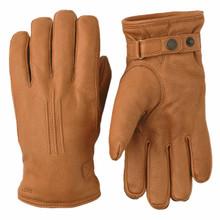 Deerskin Lambsfur Glove - Cork
