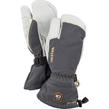 Army Leather Gore Tex 3 Finger - Grey