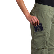 Side Zip Security Pocket