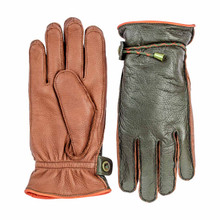 Hestra Granvik Glove - Dark Forest/Chestnut