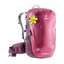 Deuter Women's Trans Alpine 28 SL Backpack - Ruby/Blackberry