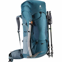 Deuter Aircontact Lite 65+10 - Trekking pole and ice axe carry accomodations