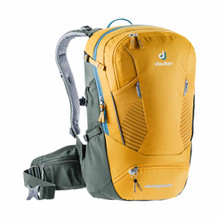 Deuter Trans Alpine 24 Backpack - Curry/Ivy (2020)