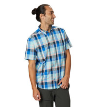 Big Cottonwood Short Sleeve Shirt - Altitude Blue