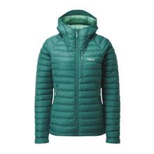 Women's Microlight Alpine Down Jacket - Atlantis/Cascade