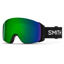 4D Mag Goggle - Black || ChromaPop Sun Green Mirror
