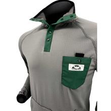 Corbeaux Agent Men's Pullover - Collar Detail