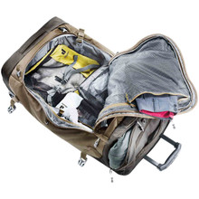 Deuter AViANT Pro Movo 90 Rolling Duffel Bag - Main Compartment Detail