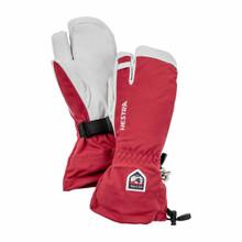 Hestra Heli 3-Finger - Red