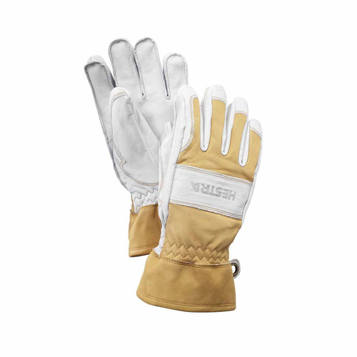Falt Guide Glove - Natural Brown/Off White