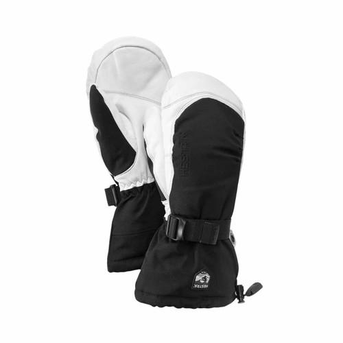 Hestra Army Leather Extreme Mitt - Black/White