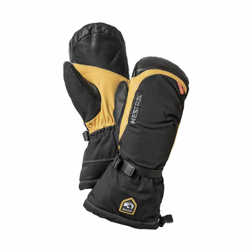 Hestra Army Leather Expedition Mitt - Black