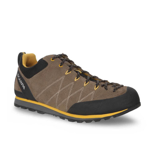 Scarpa Crux Approach Shoe - Light Brown/Mustard