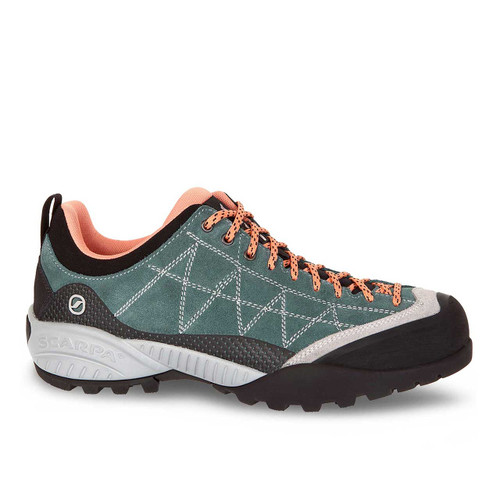 Scarpa Zen Pro Hiking Shoes - Nile Blue/Salmon