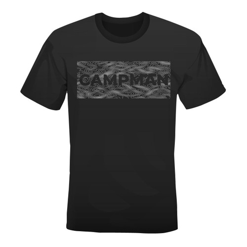 Campman Men's T-Shirt - Topo Map