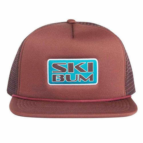 Ski Bum Trucker Hat - Cola