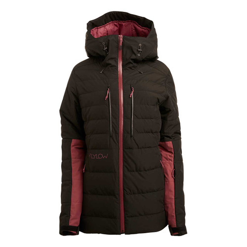 Flylow Jody Down Jacket - Black/Mulberry