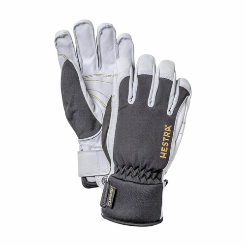 Hestra Gore Tex Short Glove - Black/Off White