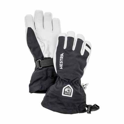 Hestra Heli Ski Jr Glove - Black