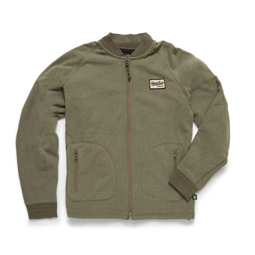 HB Polestar Fleece Bomber - Turf Green