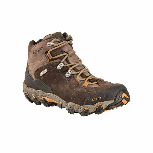 Oboz Men's Bridger Mid Waterproof Hiking Boot - Sudan