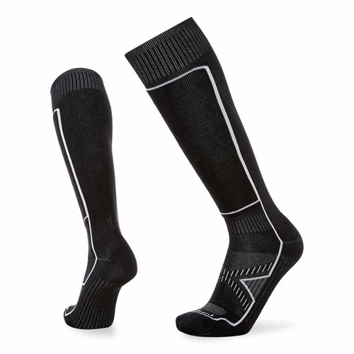Le Sock Snow Ultra Light Ski Sock - Stealth Black