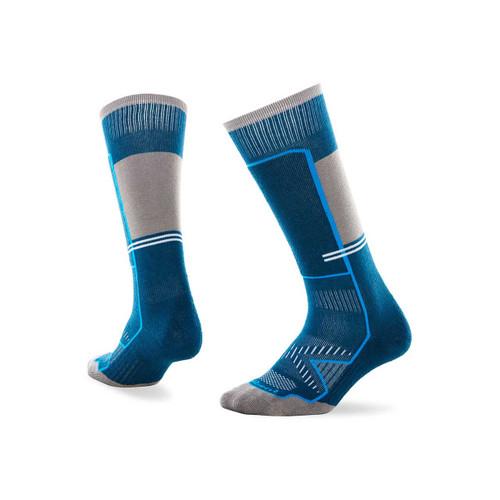 Le Bent Little Feet Kids Snow Socks - Moroccan Blue