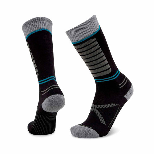 Le Bent Little Feet Kids Snow Socks - Black