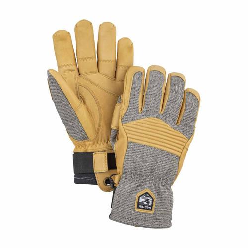 Hestra  Couloir Glove - Light Grey/Tan
