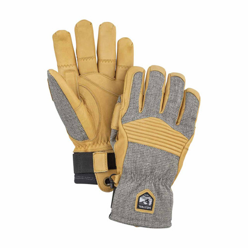 Hestra  Couloir Glove - Light Grey/Tan