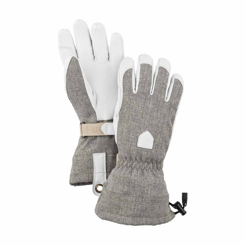 Women's Patrol Gauntlet Glove - Light Grey