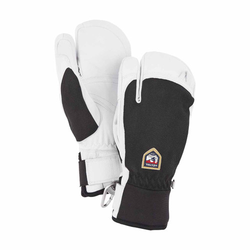 Patrol 3 Finger Glove - Black