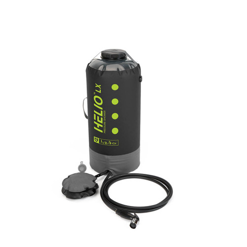 NEMO Helio LX Pressure Shower - Black