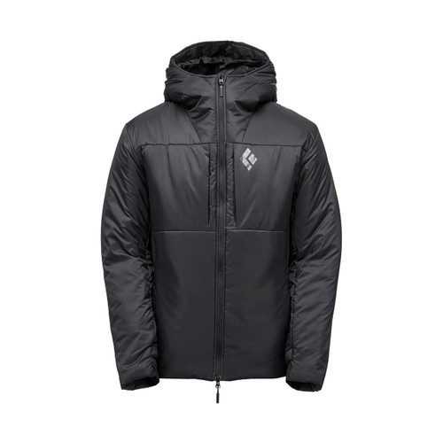 Men's Stance Belay Parka - Black