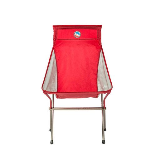 Big Agnes Big Six Camp Chair - Red/Gray